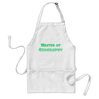 Geography Adult Apron