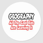 Geography...All The Cool Kids Stickers