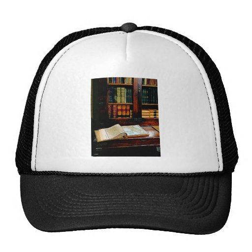 Geography Book Trucker Hat