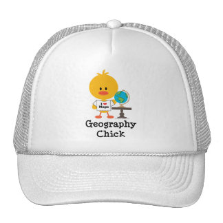 Geography Chick Hat