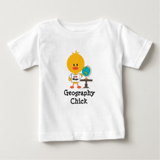 Geography Chick Infant T shirt