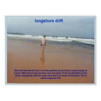 Geography, Earth  , Longshore drift Postcard