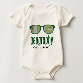 Geography Is Cool Baby Bodysuit