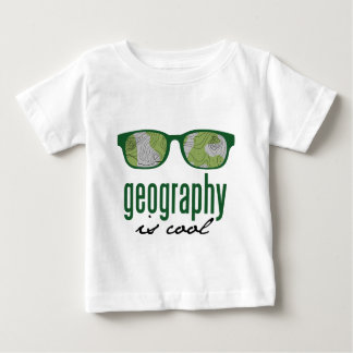 Geography Is Cool Baby T-Shirt