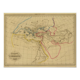 Geography of Herodotus Poster