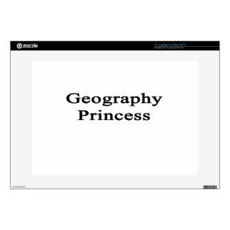 Geography Princess Laptop Skin