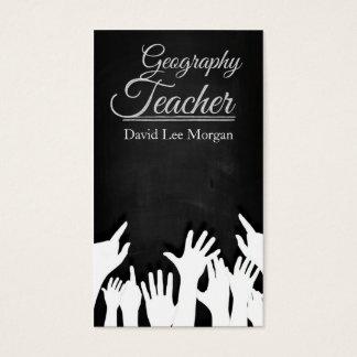Geography Teacher Business Card