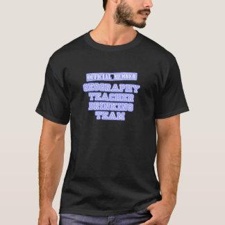 Geography Teacher Drinking Team T-Shirt