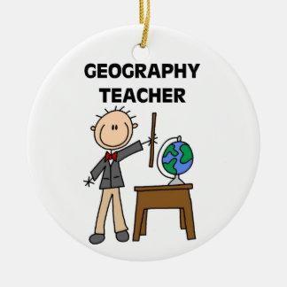 Geography Teacher Christmas Ornaments