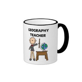 GEOGRAPHY TEACHER RINGER MUG
