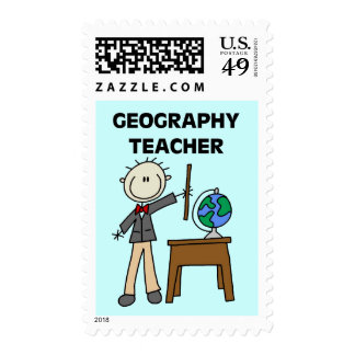 GEOGRAPHY TEACHER Tshirts and Gifts Stamps