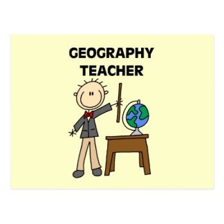 GEOGRAPHY TEACHER Tshirts and Gifts Postcard
