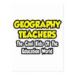 Geography Teachers...Cool Kids of Edu World Postcards