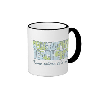 Geography Teachers Know Where It's At Ringer Mug