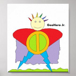 GeoHero Jr. Poster