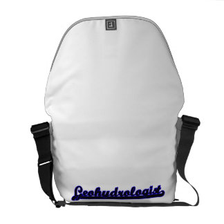 Geohydrologist Classic Job Design Courier Bags