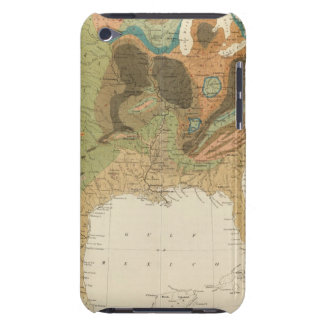 Geol map US iPod Touch Case
