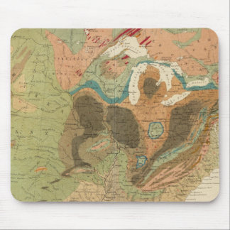 Geol map US Mouse Pad
