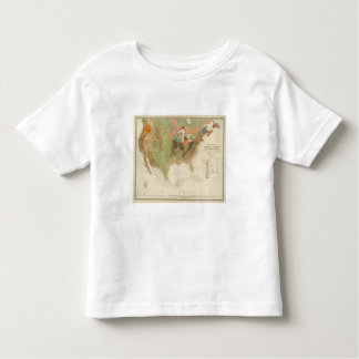 Geol map US Toddler T-shirt