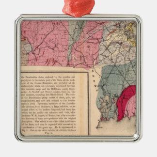 Geol Massachusetts Metal Ornament