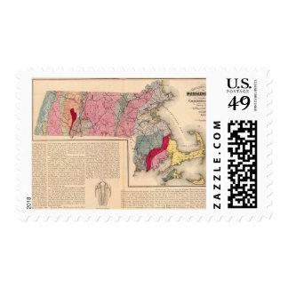 Geol Massachusetts Postage