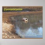Geología, ambiente, eutroficación impresiones