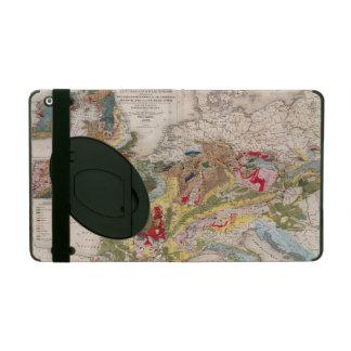 Geología de Europa iPad Fundas