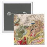 Geología de Europa Pin Cuadrada 5 Cm