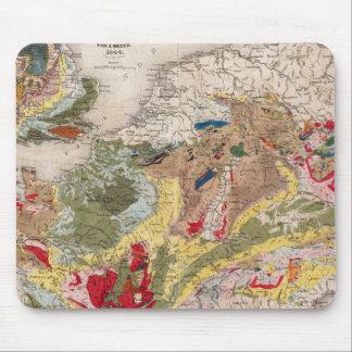 Geología de Europa Tapetes De Ratón
