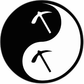Geología de Yin Yang Esculturas Fotográficas