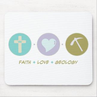 Geología del amor de la fe alfombrilla de ratón