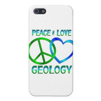 GEOLOGÍA del amor de la paz iPhone 5 Carcasa