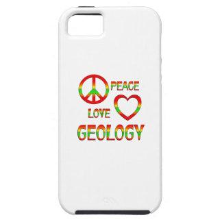 Geología del amor de la paz iPhone 5 funda