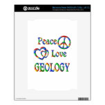 GEOLOGÍA del amor de la paz NOOK Skins
