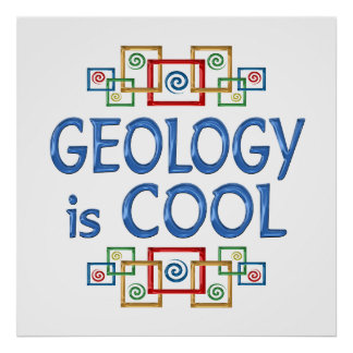 Geología fresca poster