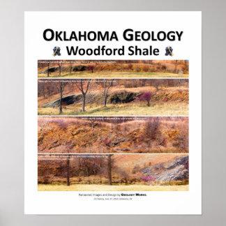 Geología II de Oklahoma - primavera temprana de la Póster