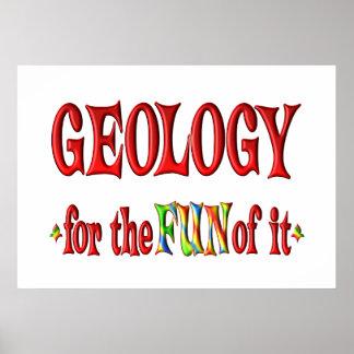 Geología para la diversión impresiones