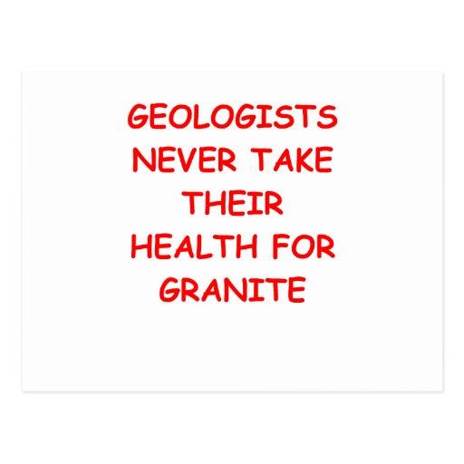 geología postal