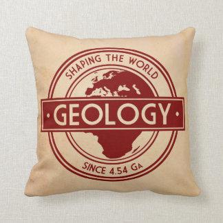 Geología que forma el logotipo del mundo (Europa) Almohadas