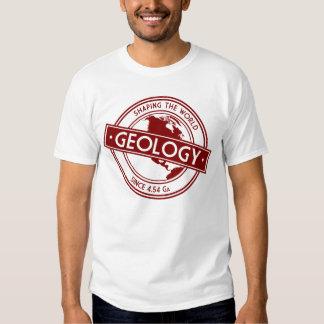 Geología que forma el logotipo del mundo (Norteamé Playera