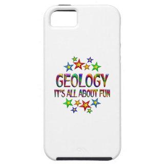 Geología sobre la diversión iPhone 5 funda