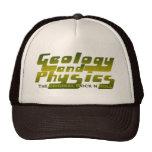 Geología y la física gorro de camionero