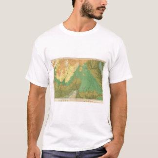 Geologic Map Of The Mesozoic Terraces T-Shirt