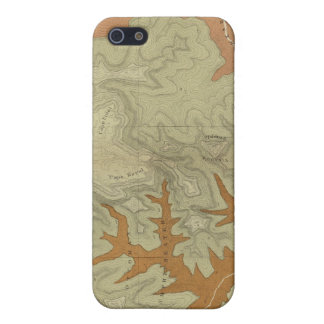 Geologic Map Of The Southern 2 iPhone SE/5/5s Cover