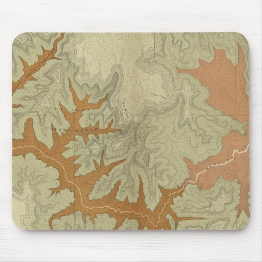 Geologic Map Of The Southern 2 Mouse Pad
