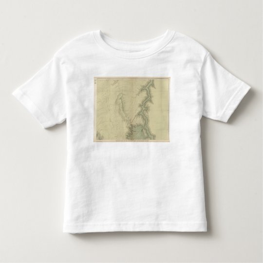 Geologic Map Of The Southern 3 Toddler T-shirt