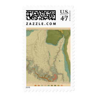 Geologic Map Showing The Kanab Postage