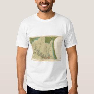 Geologic Map Showing The Kanab T-shirt
