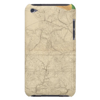 Geologic Map Showing The South Western Portion iPod Case-Mate Cases