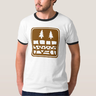 Geological Attraction Highway Sign T-Shirt